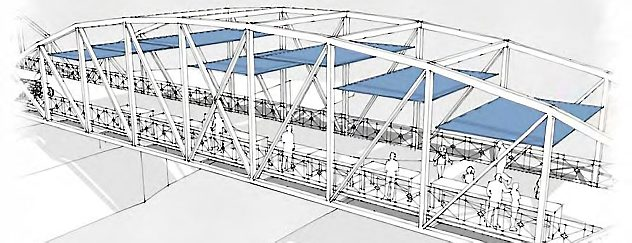 Entwurf der Carl-Alexander-Brücke