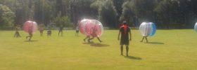 Großer Bubble Soccer Bumper Ball Turnier