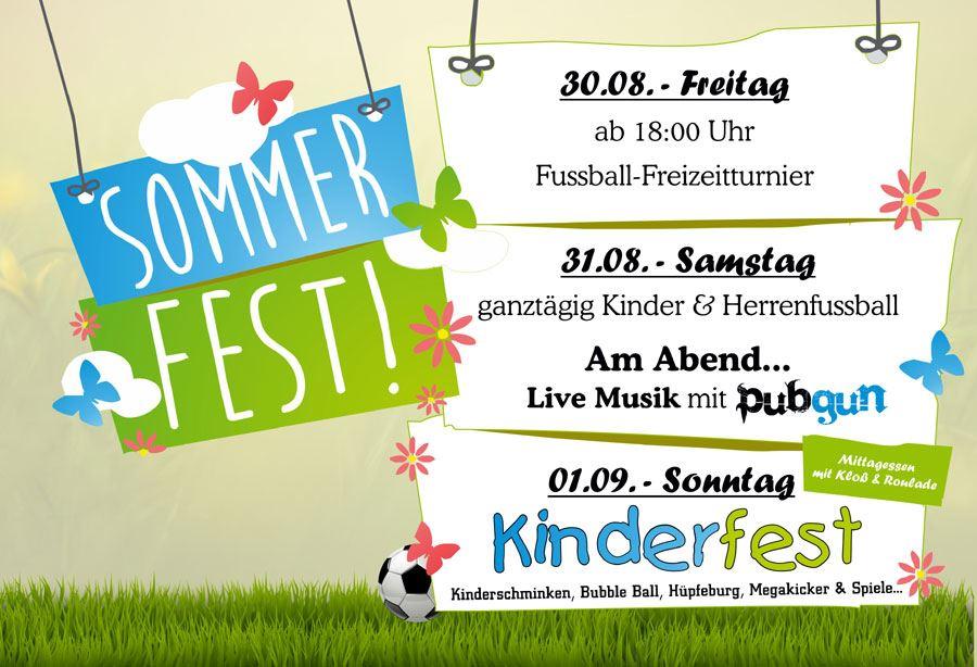 Vereinsfest des SV Eintracht Camburg @ Sportplatz Camburg
