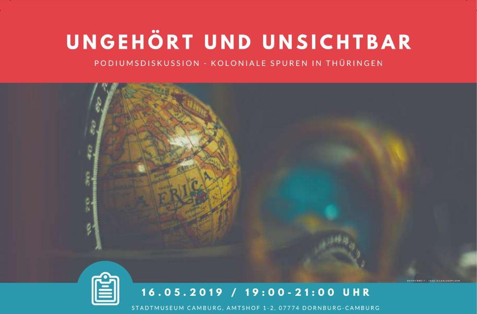 Podiumsdiskussion Ungehort Und Unsichtbar Koloniale Spuren In