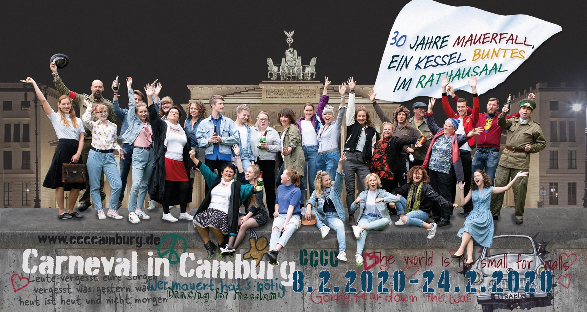 Abholung des CCCC Faschings-Prinzenpaares @ Bahnhof Camburg