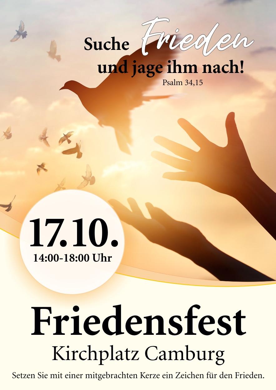 Friedensfest @ Auf dem Kirchplatz