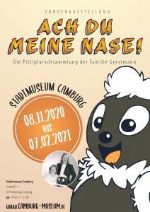 """VERSCHOBEN! Ausstellungsbeginn: """"Ach du meine Nase! Die Pittiplatsch-Sammlung der Familie Gerstmann"""" @ Stadtmuseum Camburg"""