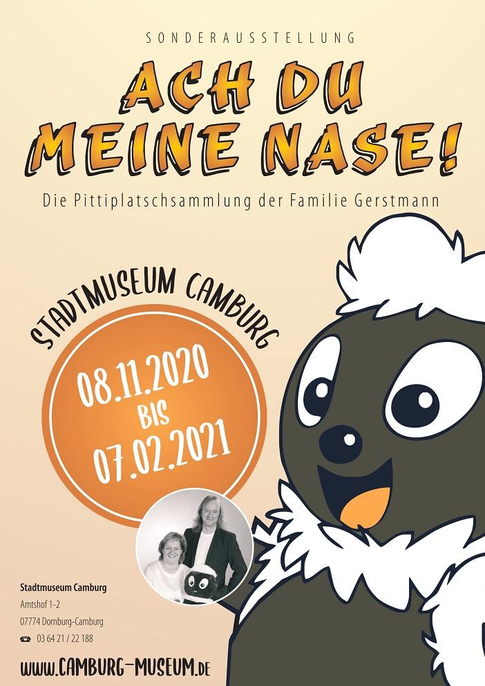 """Ausstellungsbeginn: """"Ach du meine Nase! Die Pittiplatsch-Sammlung der Familie Gerstmann"""" @ Stadtmuseum Camburg"""